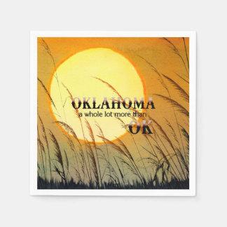 TEE Oklahoma Disposable Napkin