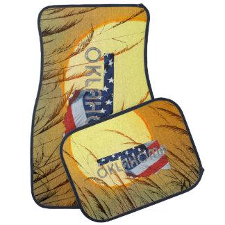 TEE Oklahoma Patriot Car Floor Carpet