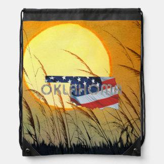 TEE Oklahoma Patriot Drawstring Bag
