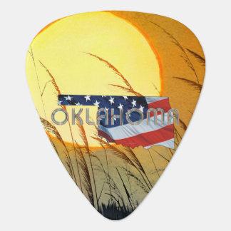 TEE Oklahoma Patriot Guitar Pick