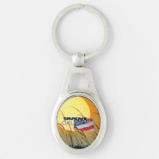 TEE Oklahoma Patriot Keychain