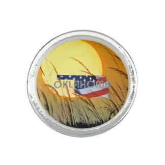 TEE Oklahoma Patriot Photo Ring