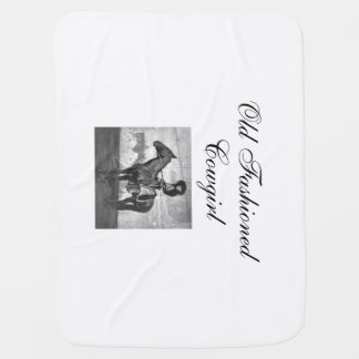 TEE Old Fashioned Cowgirl Swaddle Blankets