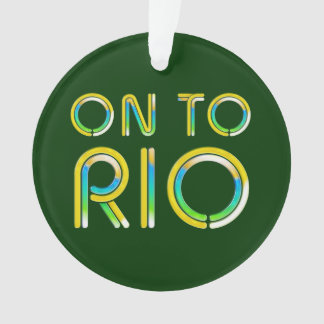 TEE On To Rio Ornament