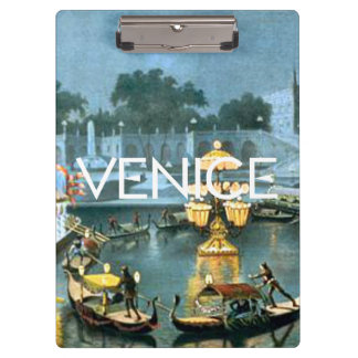 TEE On to Venice Clipboard