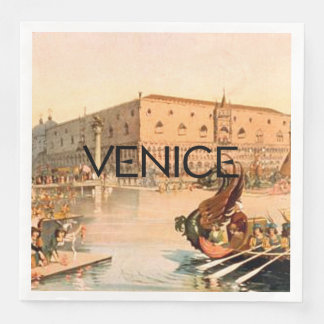 TEE On To Venice Paper Napkins