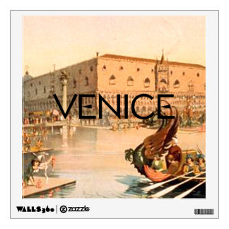 TEE On To Venice Wall Decal