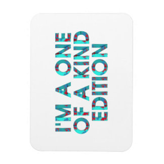TEE One of a Kind Edition Rectangular Photo Magnet