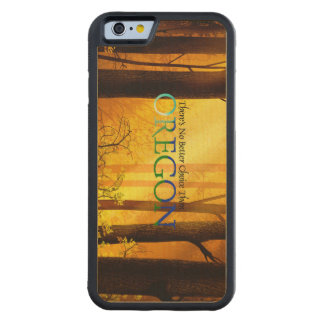 TEE Oregon Carved Maple iPhone 6 Bumper Case