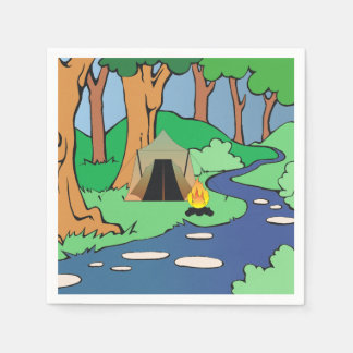 TEE Outdoors Bound Paper Napkins