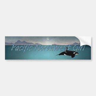 TEE Pacific Northwest Woman Bumper Sticker