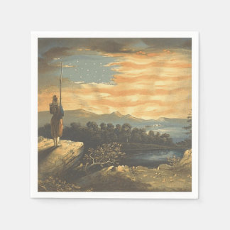 TEE Patriotic Sky Disposable Napkins