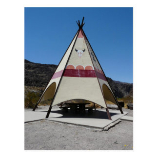 Tee Pee Rest Area/Big Bend State Park, TX Postcard