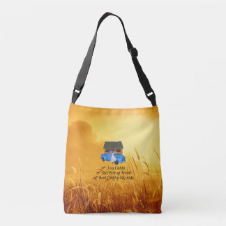 TEE Pickup Slogan Crossbody Bag