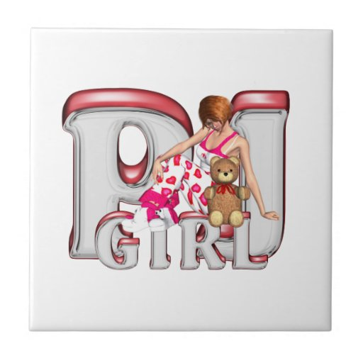 TEE PJ Girl Tile