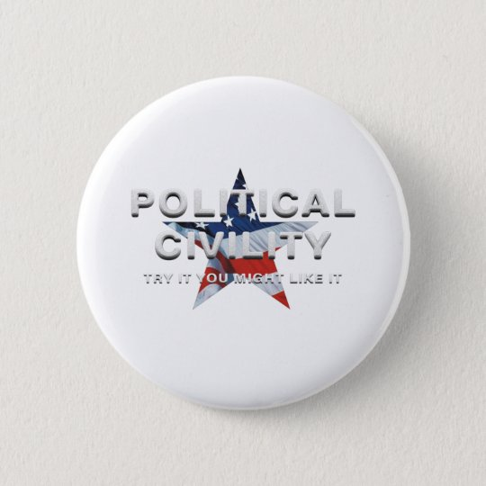 TEE Political Civility 2 Inch Round Button
