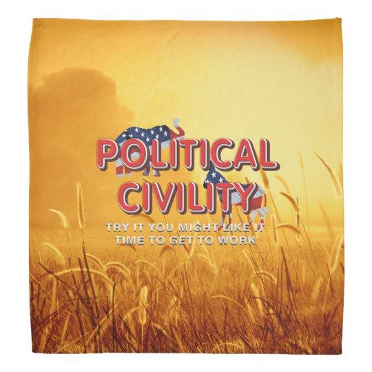 TEE Political Civility Bandannas