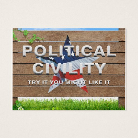 TEE Political Civility Business Card