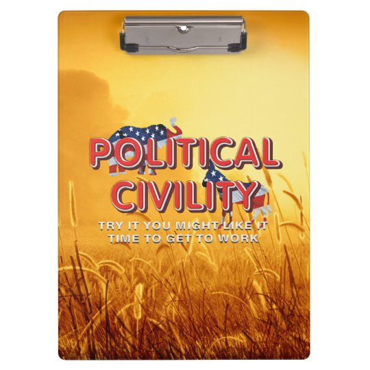 TEE Political Civility Clipboard