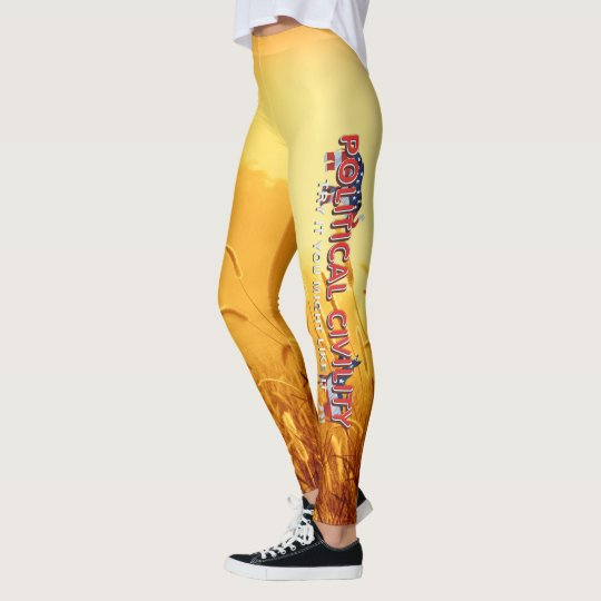 TEE Political Civility Leggings