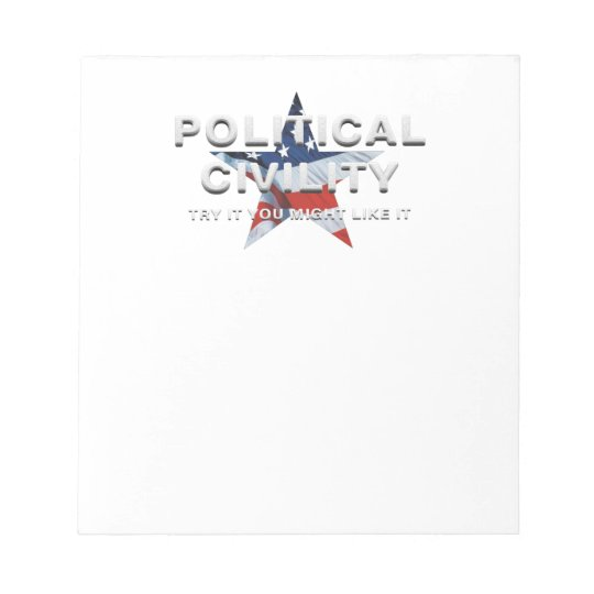 TEE Political Civility Notepad