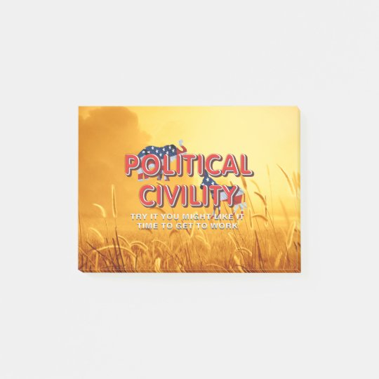 TEE Political Civility Post-it® Notes