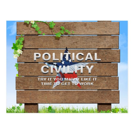 TEE Political Civility Postcard