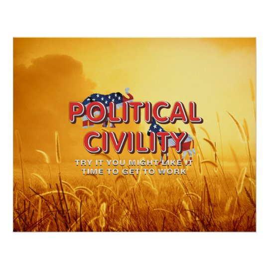 TEE Political Civility Poster