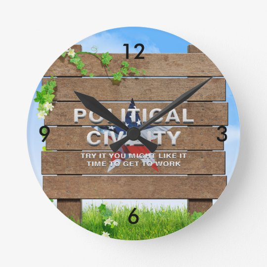 TEE Political Civility Round Clock