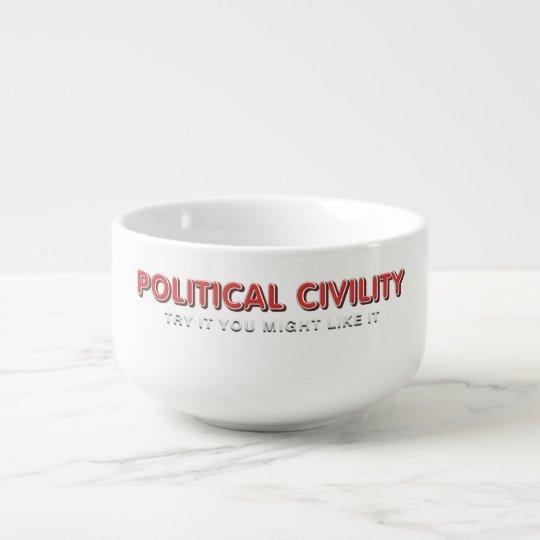 TEE Political Civility Soup Mug