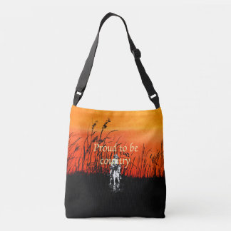 TEE Proud to be Country Crossbody Bag