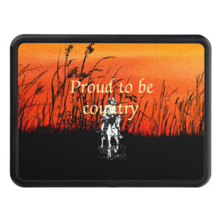 TEE Proud to be Country Trailer Hitch Cover