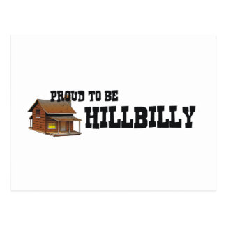 TEE Proud to be Hillbilly Postcard