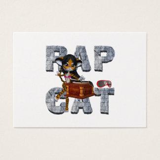 TEE Rap Cat Business Card
