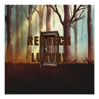 TEE Redneck Luxury Poster