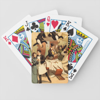 TEE Restaurant Shenanigans Bicycle Playing Cards