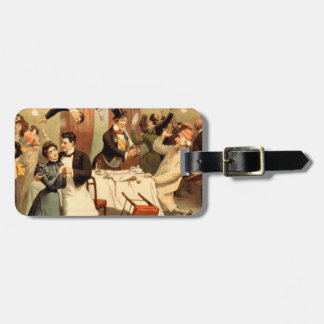 TEE Restaurant Shenanigans Luggage Tag
