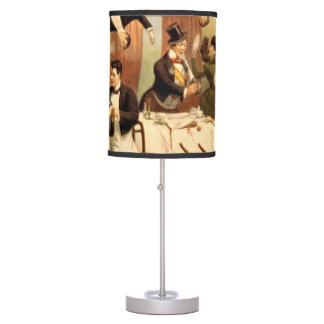 TEE Restaurant Shenanigans Table Lamp