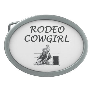 TEE Rodeo Cowgirl Belt Buckles