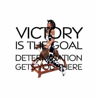 TEE Rodeo Victory Slogan Photo Cutouts
