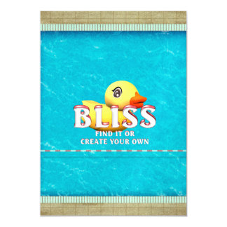 TEE Rubber Ducky Bliss Magnetic Invitations