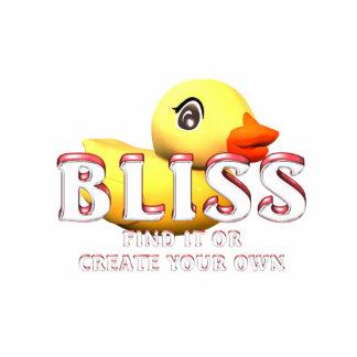 TEE Rubber Ducky Bliss Standing Photo Sculpture