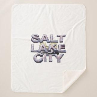 TEE Salt Lake City Sherpa Blanket