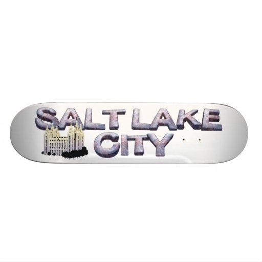 TEE Salt Lake City Skate Deck