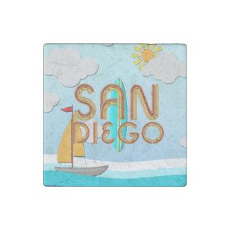 TEE San Diego Stone Magnets