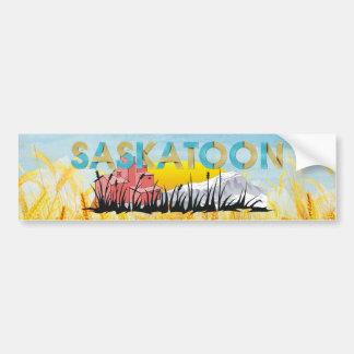 TEE Saskatoon Car Bumper Sticker