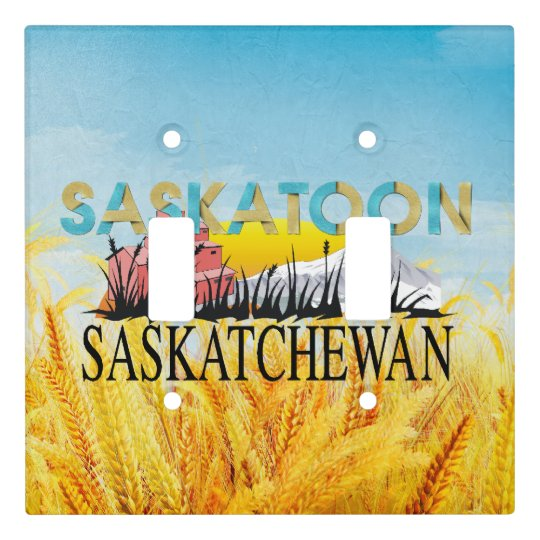 TEE Saskatoon Light Switch Cover