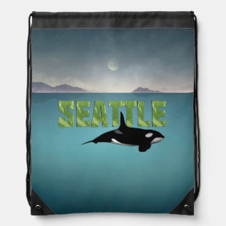 TEE Seattle Drawstring Bag