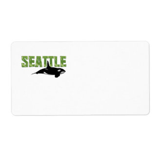 TEE Seattle Shipping Label