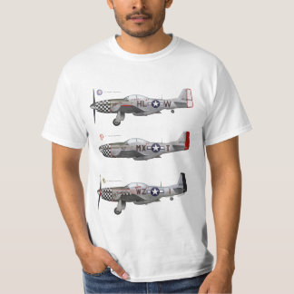 Tee-shirt 78th Fighter Group P-51 Mustang T-Shirt
